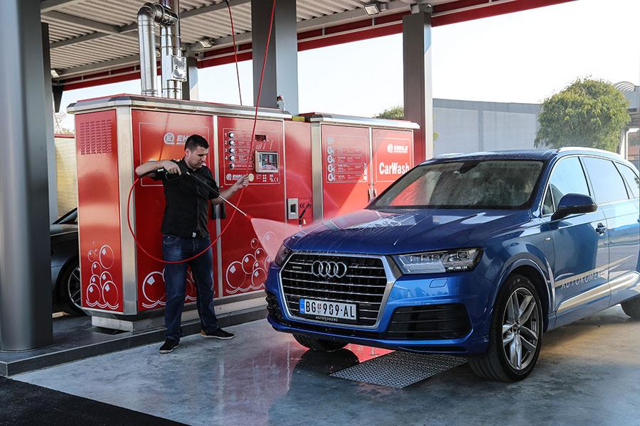 Autokomerc Car Wash About Us - Audi car wash