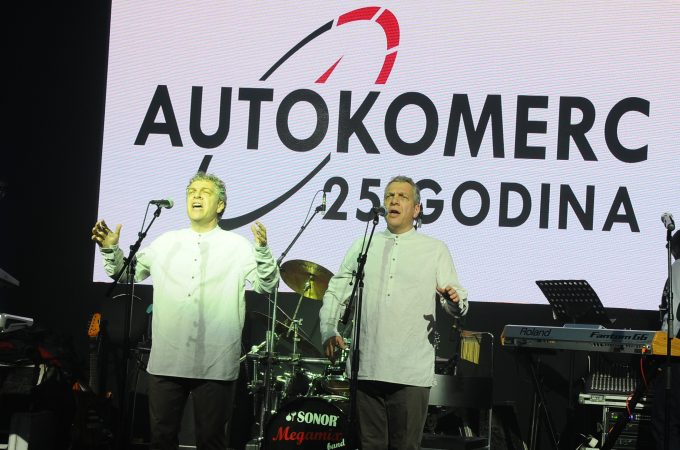 The company Autokomerc celebrates 25 years of successful business