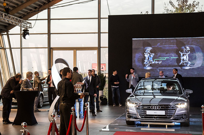 Audi A8 glamour and luxury