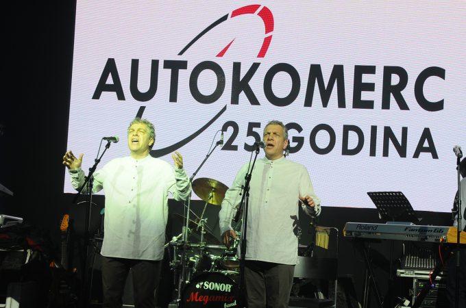 Kompanija Autokomerc proslavila 25 godina uspešnog poslovanja