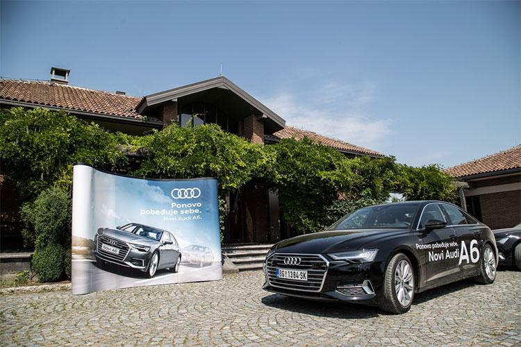 Autokomerc Centar Aerodrom organizovao ekskluzivnu promociju nove limuzine Audi A6