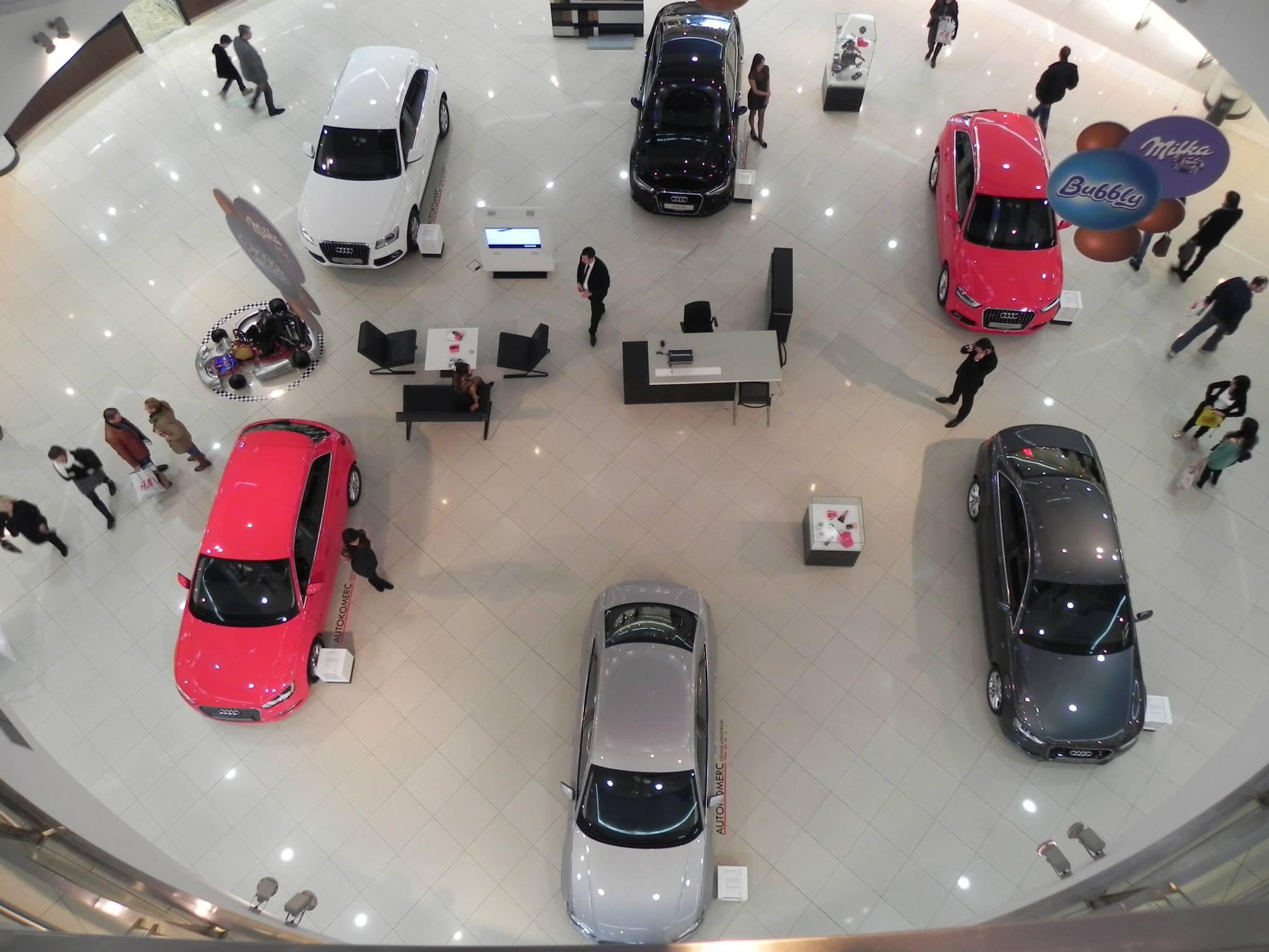 Autokomerc sajam automobila - Delta City