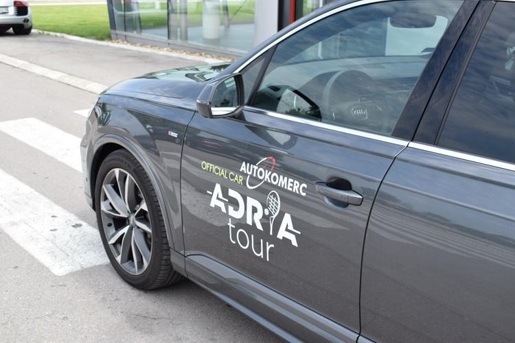 Audi zvanično vozilo Adria Tour-a